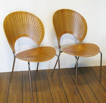 nanna ditzel stol 2 stk. Nanna Ditzel Trinidad stole af kirsebærtræ | ebuy.dk nanna ditzel stol
