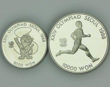 10000 won to nok