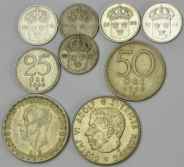 vurdering af mønter