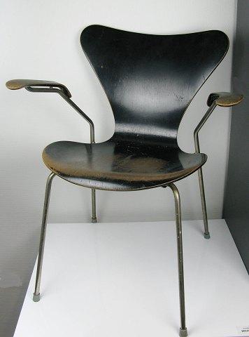 arne jacobsen stol 7 er Arne Jacobsen 7'er stol med armlæn, model 3207 | ebuy.dk arne jacobsen stol 7 er