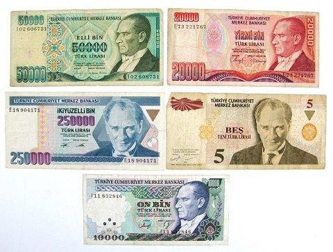 tyrkisk valuta