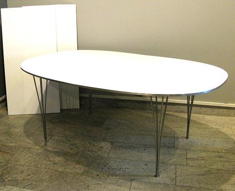 piet hein bord ellipse Piet Hein / Bruno Mathsson Super ellipse bord med udtræk. NY  piet hein bord ellipse