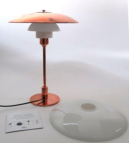 Højmoderne Poul Henningsen, PH 3½-2½ kobber bordlampe - limited edition | ebuy.dk MV-15
