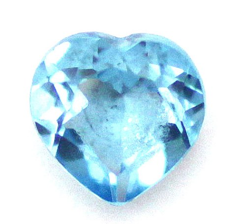 lyseblå smykkesten