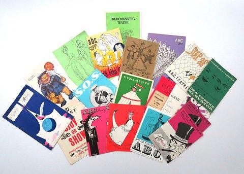 Dirch Passer 1926-1980) Memorabilia - Revy og teaterprogrammer (18) | ebuy.dk